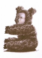 Studies for unknown paintings: teddy 2007 by Irene Wellm